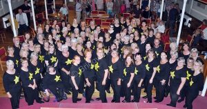 The Rock Choir at Bridgwater Baptist Sound Celebration in July 2019 | Photo used with permission by The Bridgwater Times